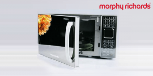 Morphy Richards Stainless Steel Microwave