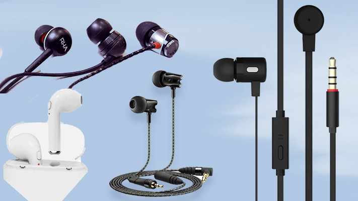 Best earphones with mic and volume control in india