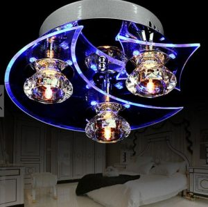 Moon and star ceiling light from BangGood