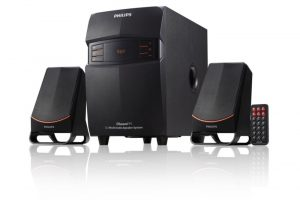 Philips MMS-2550F/94 2.1 Channel Multimedia Speakers