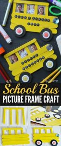 Bus Photo Frame for Pre-Schoolers