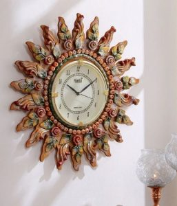 Handcrafted wall clock eid gift