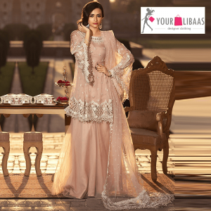 Maria B embroidered suit - yourlibaas