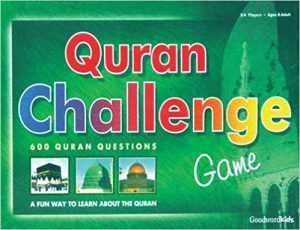 >The Quran Challenge Board Game eid gift for childrens