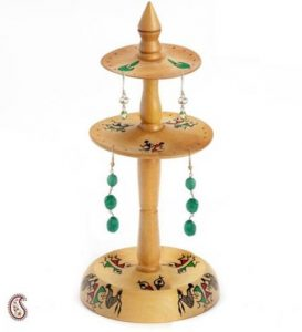 hand painted earring stand eid gift