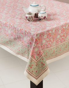 Zumra table cloth from Fab India