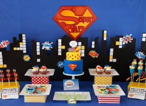 dessert counter - Fathers Day Party Ideas