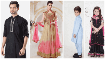 Eid dresses for men, women and kids