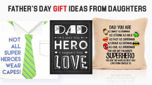 Fathers Day Gifts From Daughter Homemade Diy Amp Online