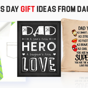 Father's Day Gifts from Daughters – HomeMade & Online Gifting Ideas to Make Dad Feel Special