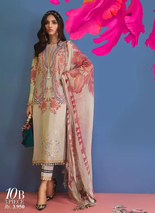 Printed Pakistani suit