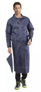 Duckback full length raincoat