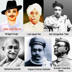 Indian Independence Freedom Fighters