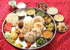 Special meal for teachers on Guru Purnima