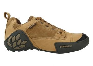 Woodland Camel Leather Shoe