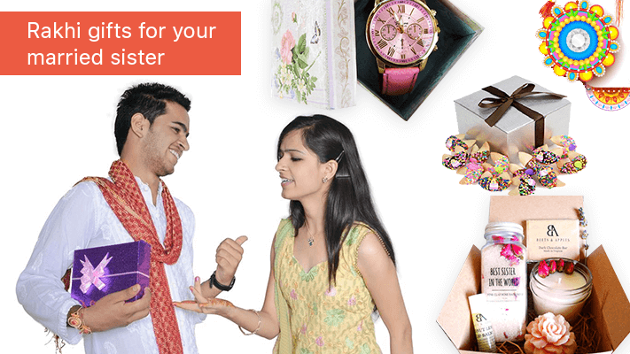 Rakhi gifts for your married sister or sister in law