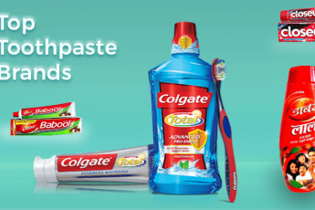 Top toothpaste brands in India