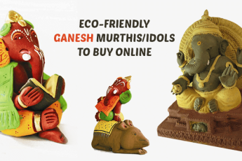 Eco-friendly Ganesh murthis