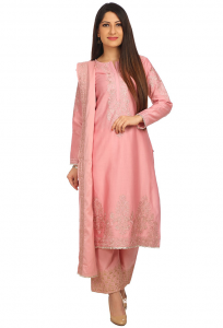 Pink Palazzo suit from Biba