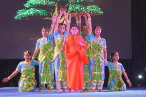 Cultural programme themed on non-violence