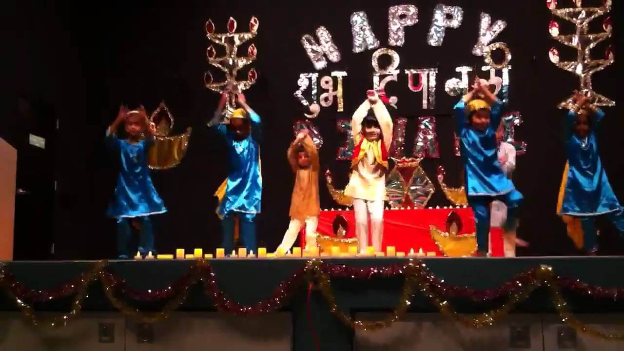 Diwali song and dance
