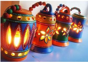 Eco Friendly Diwali Decoration
