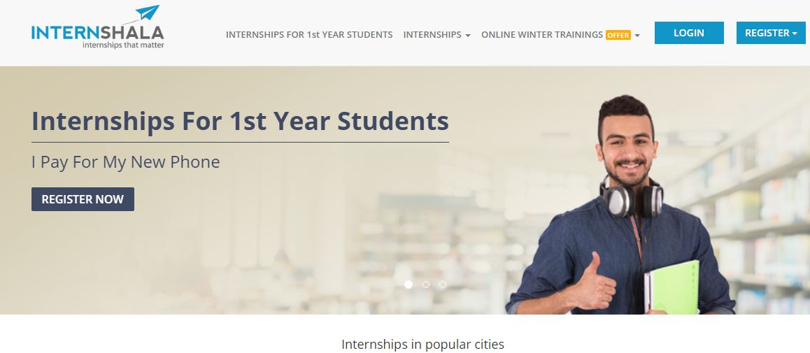 Internshala is an internship platform