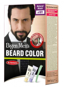 Bigen Men's Beard Color, Natural Black B101 (20g + 20g)