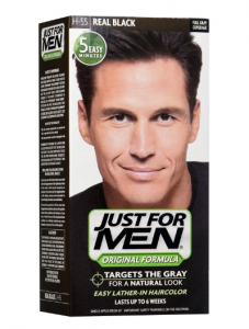 10. Just For Men Hair Color H-55 Real Black