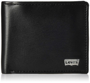 Levis - Black Wallet for Mens