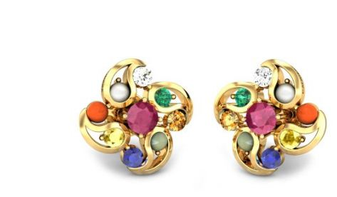 Medea Navratna Earrings