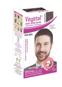 Vegetal Bio Colour Dark Brown For Men