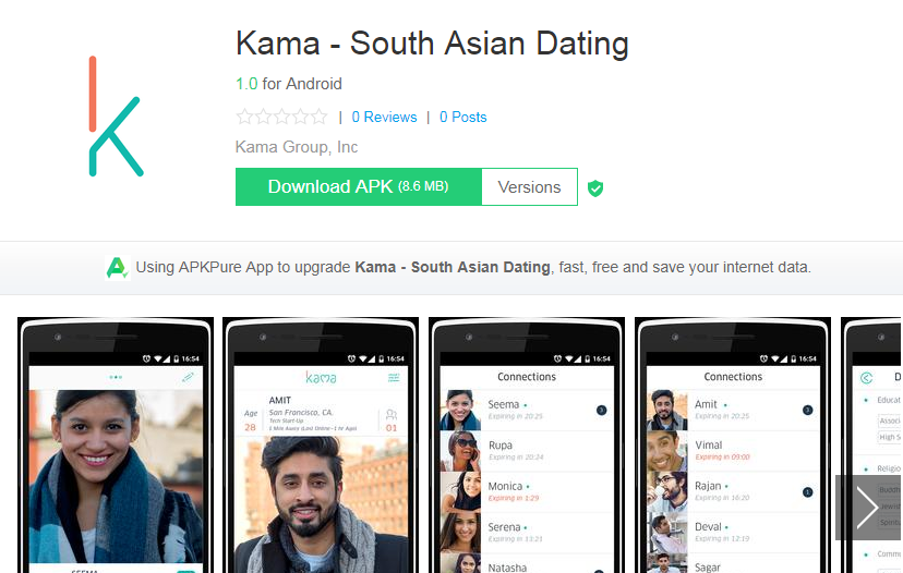 Kama Dating App