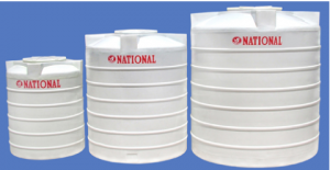 Triple Later Water Storage Tanks
