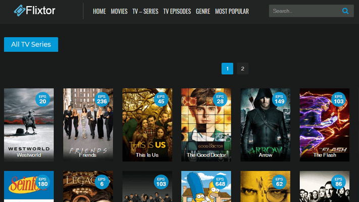 Flixtor Watch Television Shows Online