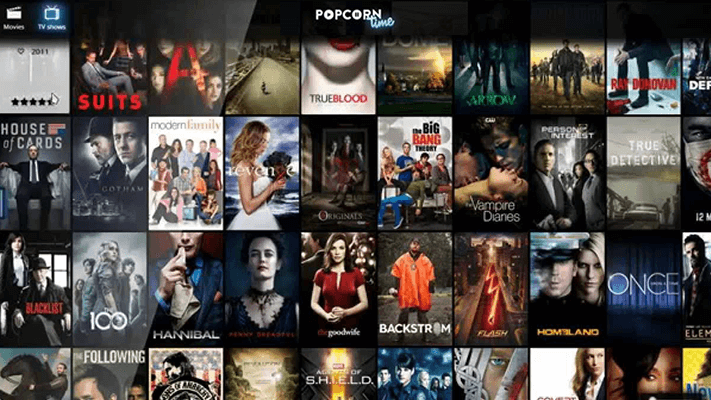 Popcorn Time Online TV Shows
