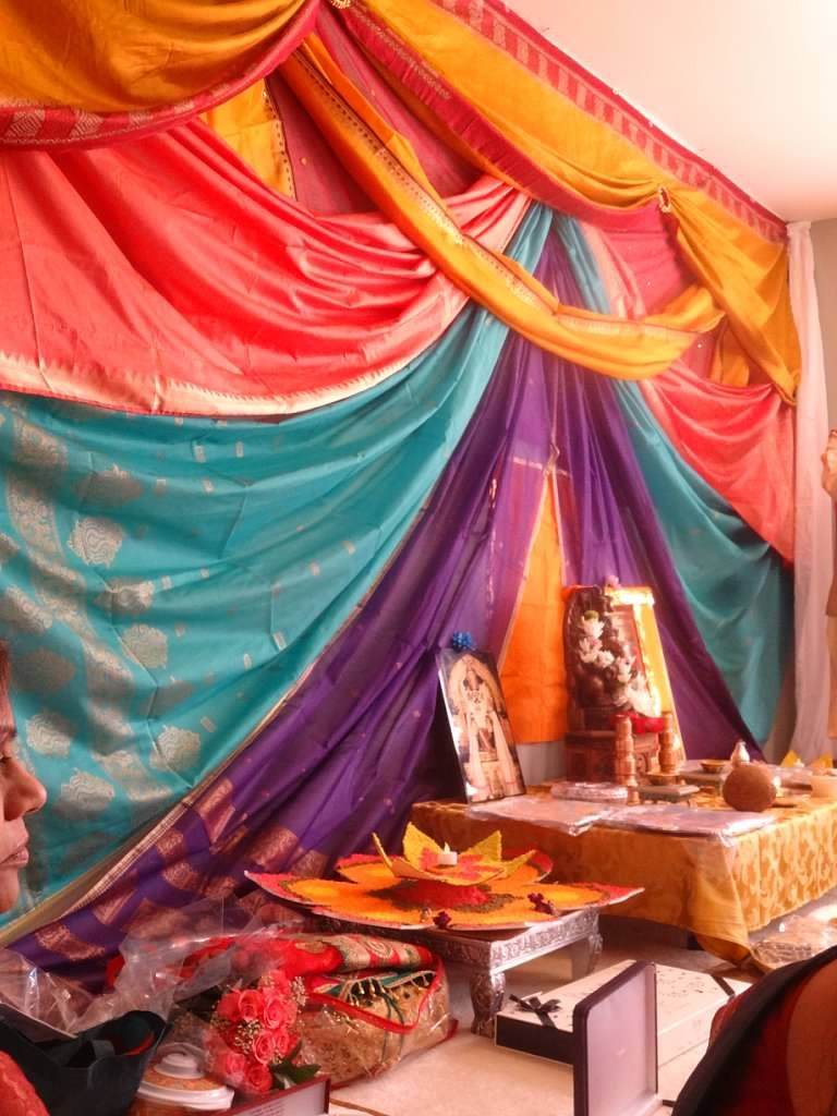 Saree decor