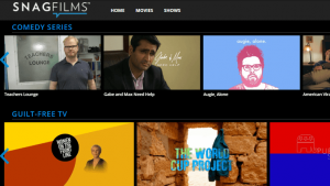 Snagfilms Online TV Shows