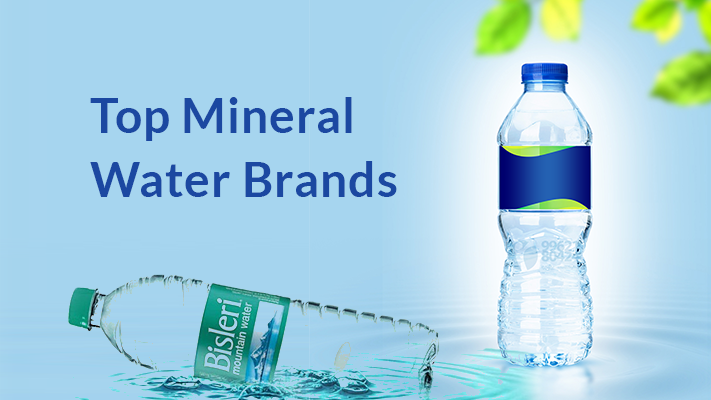 Top 10 Mineral Water Brands in India - Best Drinking Water