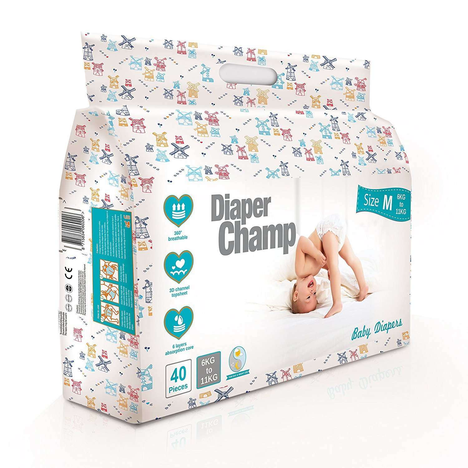 Diaper Champ Baby's Chlorine and Paraben Less
