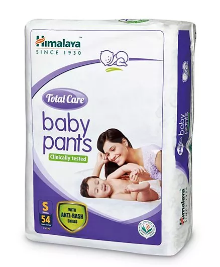 Himalaya Total Care Small Size Baby Pant Diapers