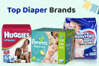 Best Diapers for Newborns & Babies (Disposable & Cloth Diapers) in India
