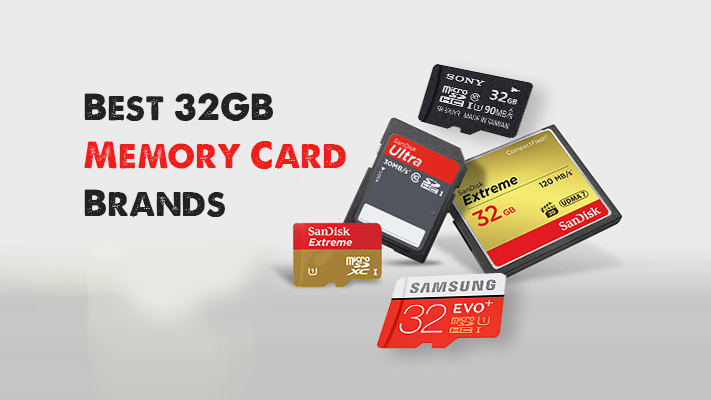 Best 32GB memory card brands in India