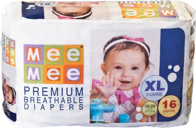Mee Mee Premium Breathable Baby Diapers