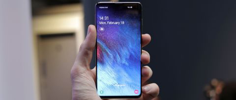 Display-Samsung Galaxy S10