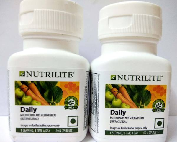 Amway Nutrilite Daily Multivitamin & Multimineral Supplement