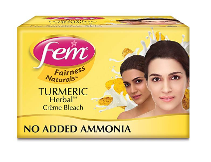 Fem Turmeric Herbal Fairness Cream Bleach