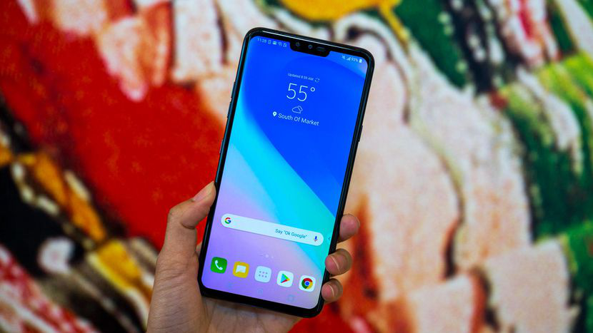 LG V40 ThinQ Display