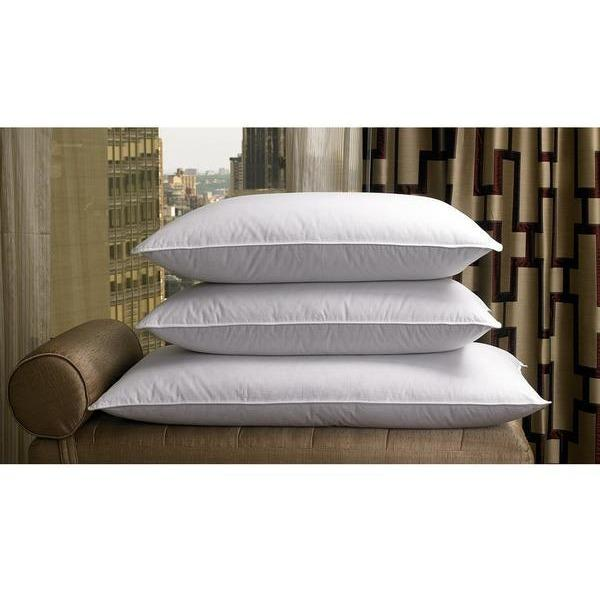 Pillow Goose Down and Feather 10/90 - White