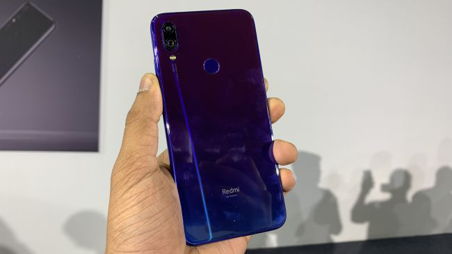 Redmi Note 7 Pro Back View